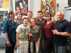 Gruppenbild der Famile Lorch 2014