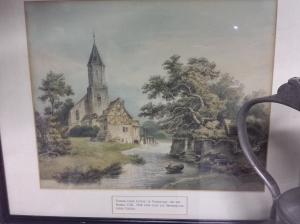 evangelische Kirche Pfungstadt vor 1748