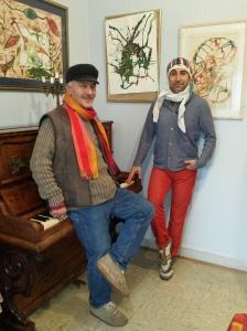 Necmi Erkardaş (links) und Hüseyin Aslan (rechts)