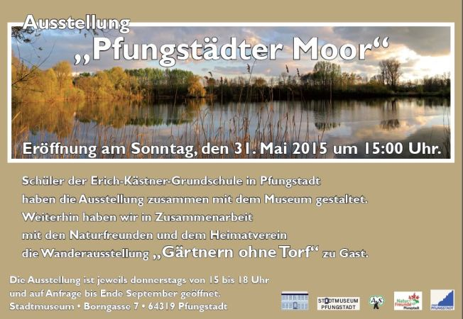 Pfunstädter Moor 2015 Museum Pfungstadt