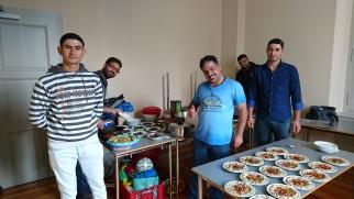 Hadi und sein Team