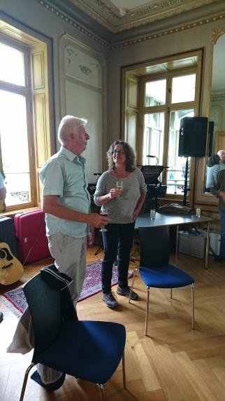 Bernd Crößmann und Marion Roth