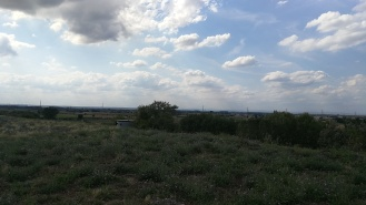 Ausblick vom Müllberg Pfungstadt