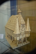Michelstädter Rathaus aus Streichhölzern von Franz Gruber