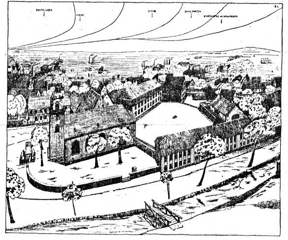 Bild 1 Goetheschule, Zeichnung